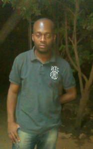 Christian, au soir de son départ de Ouaga.