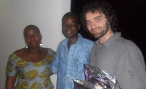 Avec Jean et Estelle