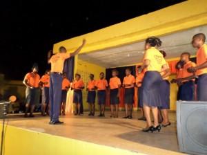 La chorale du Lycée Bakita